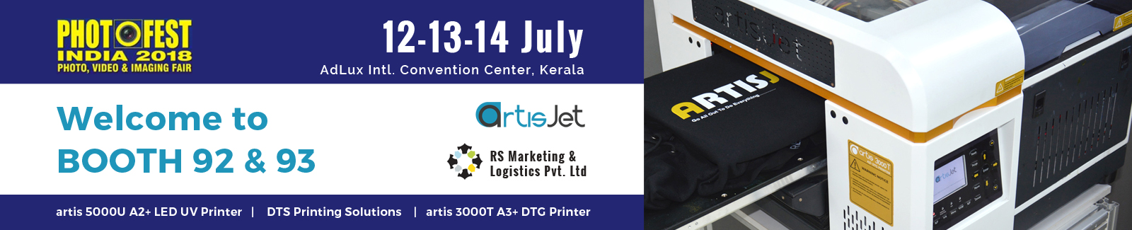 d2287a347 Since 2001, Photo FEST India is a national trade fair of photographic  materials and accessories in Kerala. Although of national level, ...