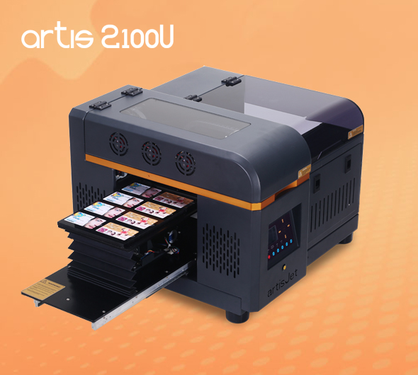 artisJet proV6 A5 LED UV Printer