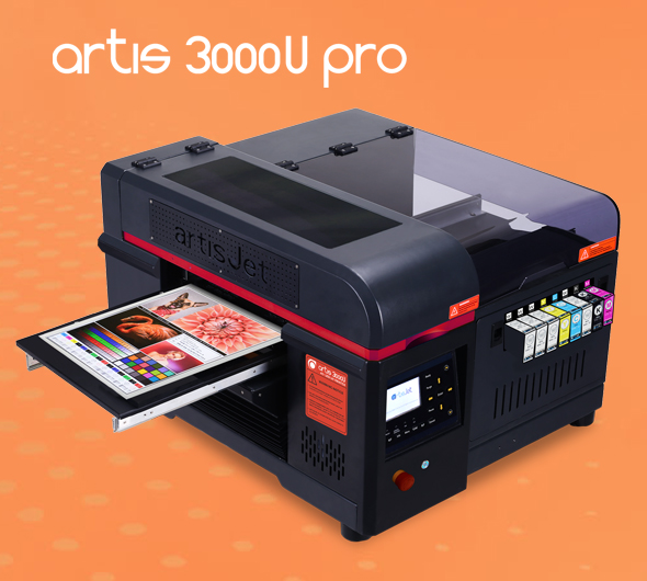 artis 2100U A4 LED UV printer