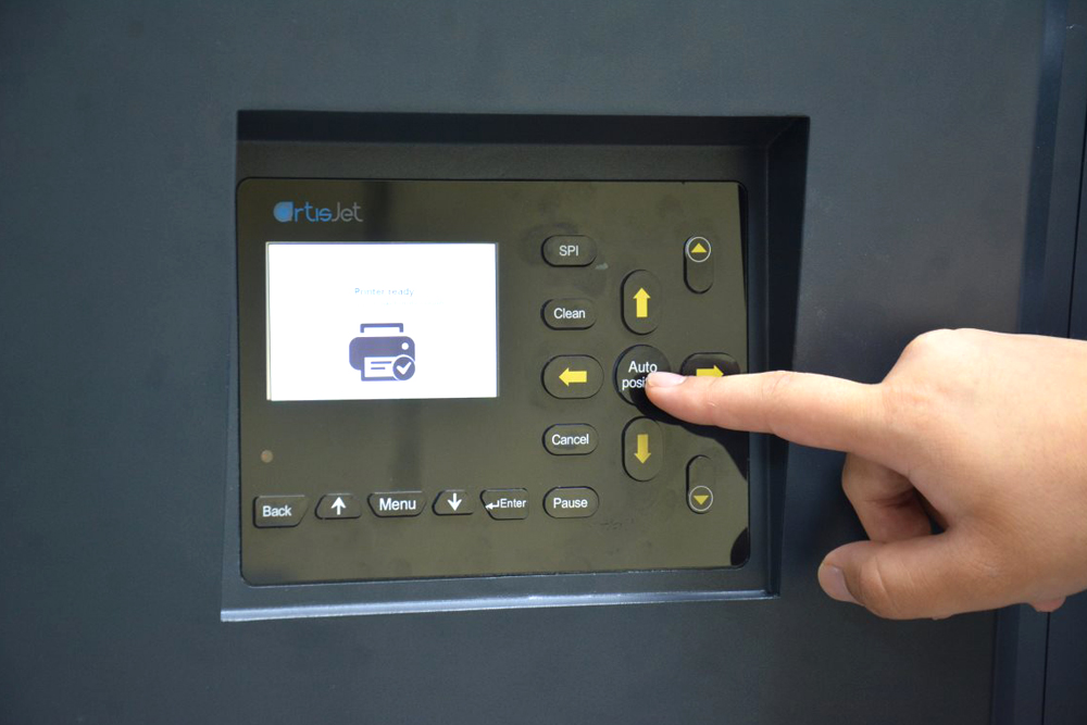 auto position from control panel