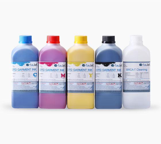 DTG Direct to Garment Ink